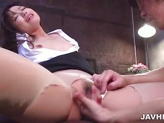 High intensity Japanese fucking with Shiona Suzumori