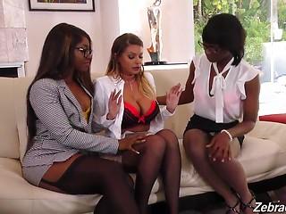 Brooklyn Chase, Ana Foxxx & Skyler Nicole